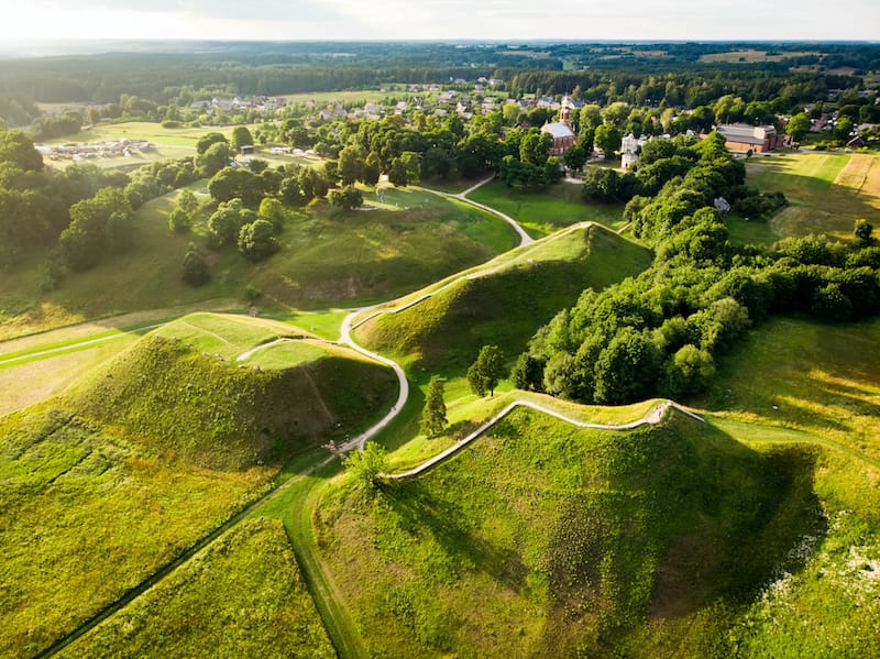 Places to visit in Lithuania: Kernave