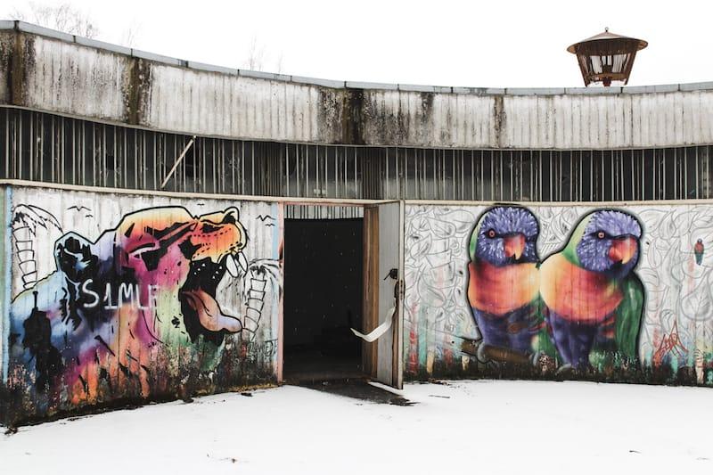 Forgotten Memories of the Abandoned Amusement Park in Elektrenai