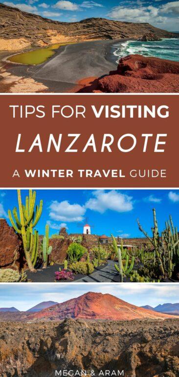 8 Fantastic Reasons to Visit Lanzarote in Winter (+ Things to Do) | Things to do in Lanzarote | What to do in Lanzarote | Playa Blanca | Lanzarote winter | Winter in Lanzarote | Timanfaya National Park | Teguise | Arrecife | La Graciosa | Lobos Island | Canary Islands in winter | Lanzarote photography | Lanzarote Christmas | Cesar Manrique | Lanzarote travel | Visit Lanzarote
