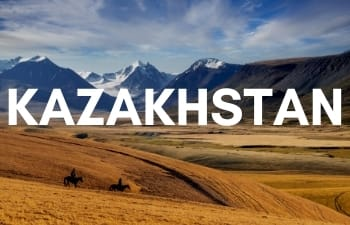 Megan & Aram Travel Destinations | Travel to Kazakhstan