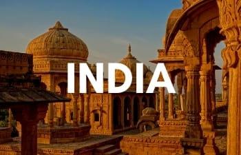 Megan & Aram Travel Destinations | Travel to India