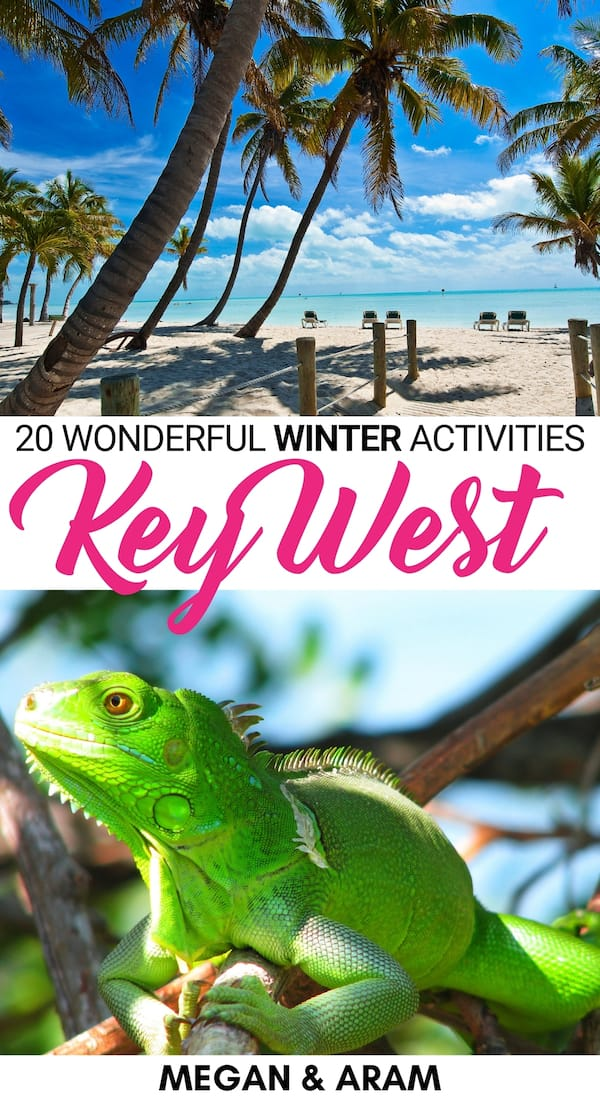 Are you planning a trip to Key West in December? This Key West winter guide will give you all the details you will need to spend Christmas in Key West (or any other time in December!) Let us know your favorite thing to do in December in Key West, Florida! | Florida Keys | Key West things to do | Key West travel | Key West photography | Key West Christmas