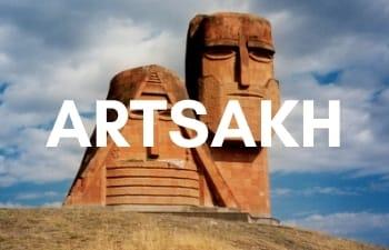 Megan & Aram Travel Destinations | Travel to Artsakh (Nagorno-Karabakh)