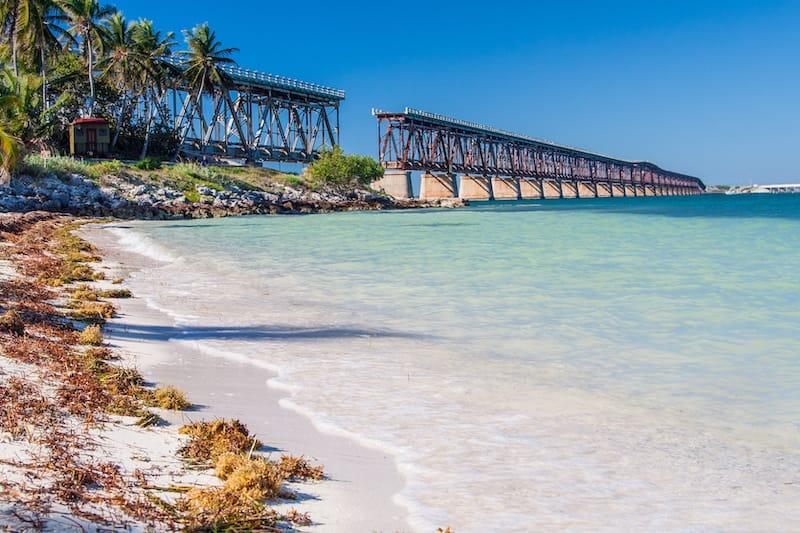 Broken bridge Bahia Honda state park