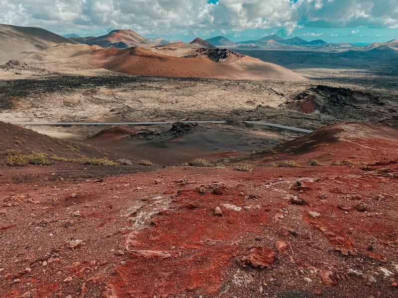 Visit Lanzarote during winter: Timanfaya National Park