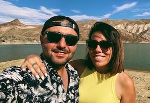 Megan and Aram sidebar pic
