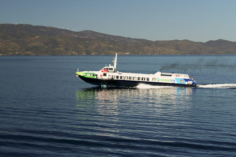Athens to Hydra Ferry