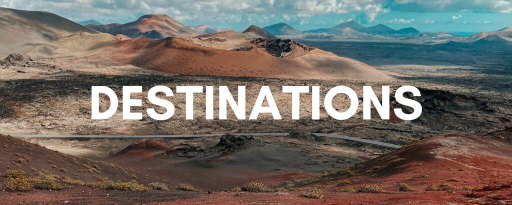 Megan & Aram Travel Destinations