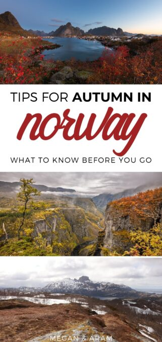 Norway in October: Everything to Know + Best Places to Visit - This guide details everything to know before traveling in October to Norway from the best destinations to what to eat to travel tips. #norway #autumn #scandinavia | Norway during October | Norway autumn | Norway fall | Norway cities | Things to do in Norway | Visit Norway | Visit Oslo autumn | Visit Bergen autumn | Norway hiking | Norway national parks | Travel to Norway | Norway in fall