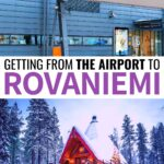 Are you considering your options for getting from Rovaniemi Airport to the city and aren't sure which is best for you? This guide details 4 great options from public transportation to private transfers to taxi services. | Visit Rovaniemi | Travel to Rovaniemi | Lapland travel | Finland travel | Visit Lapland | Rovaniemi itinerary | Visit Santa Claus Village