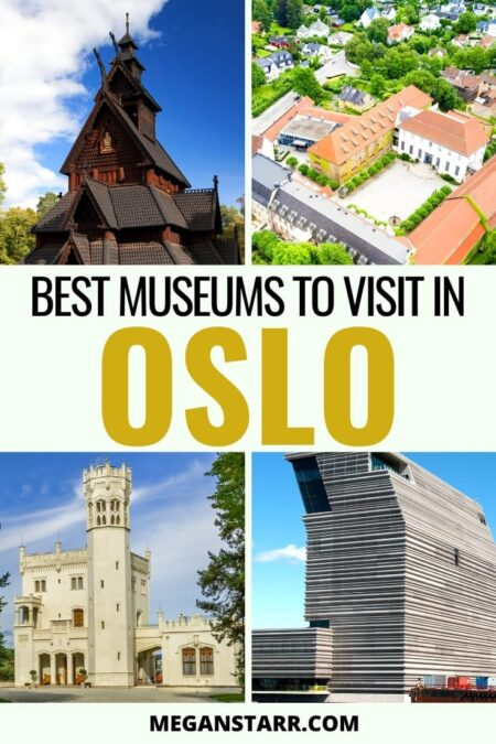 12 Best Museums in Oslo, Norway: Looking for things to do in Oslo? This guide lists the best museums in Oslo and why you should visit them. It covers the museums on Bygdøy and more. #oslo #visitoslo #museums #norway #scandinavia | Things to do in Oslo | Visit Oslo | Oslo travel | Edvard Munch | Munch Museum | Bygdøy | Visit Norway | Oslo museums | Oslo history | Norwegian history | Viking museum | Kontiki museum | Sonja Henie museum | Oslo art