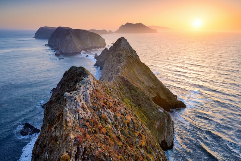 Anacapa Island Channel Islands National Park California hiking