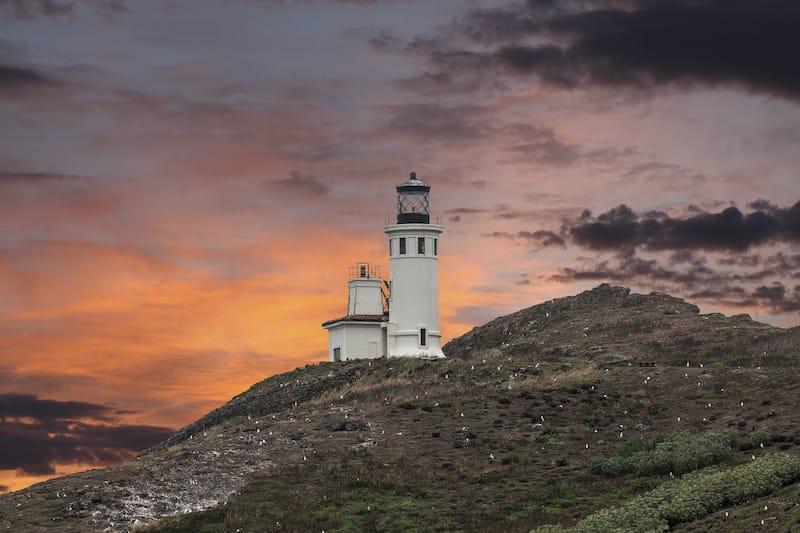 Anacapa Island Lighthouse Channel Islands NP California
