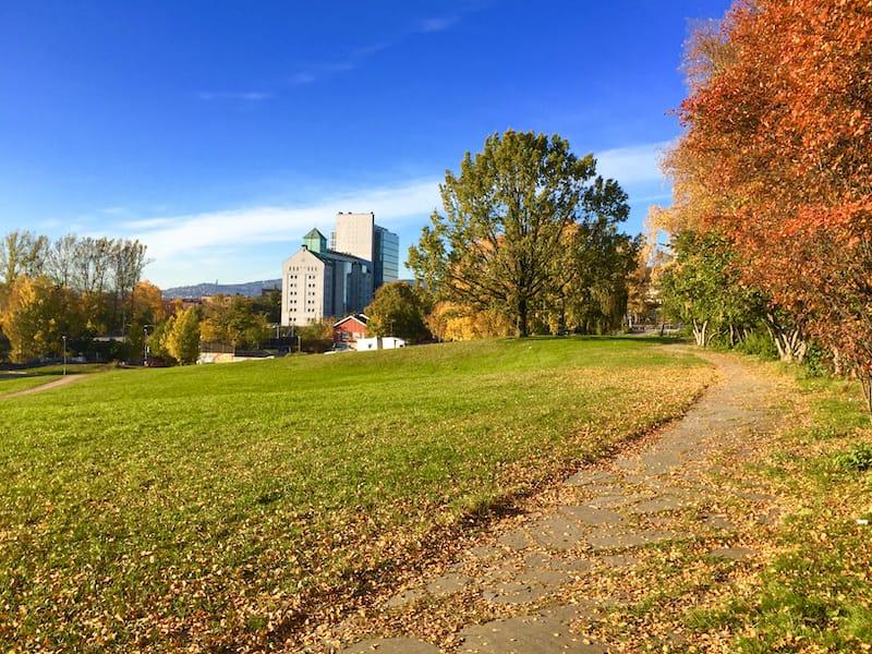 Oslo Norway in October