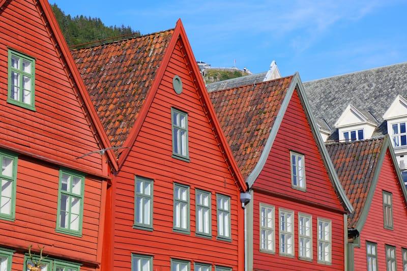 Bergen Bryggen buildings