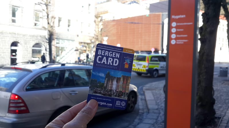 Bergen City Card in Norway