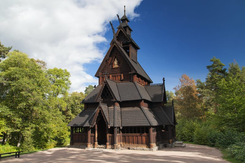 Best museums in Oslo: Gol Stave Church