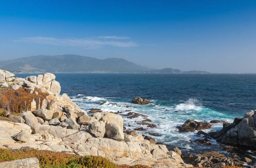 Island Coastline, Santa Cruz Island, Channel Islands National Park, California