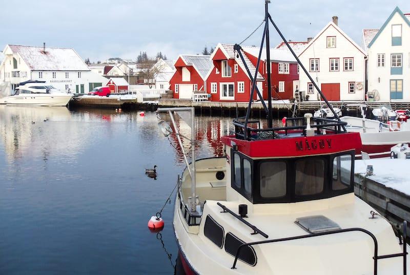 Skudeneshavn on Karmøy in Norway