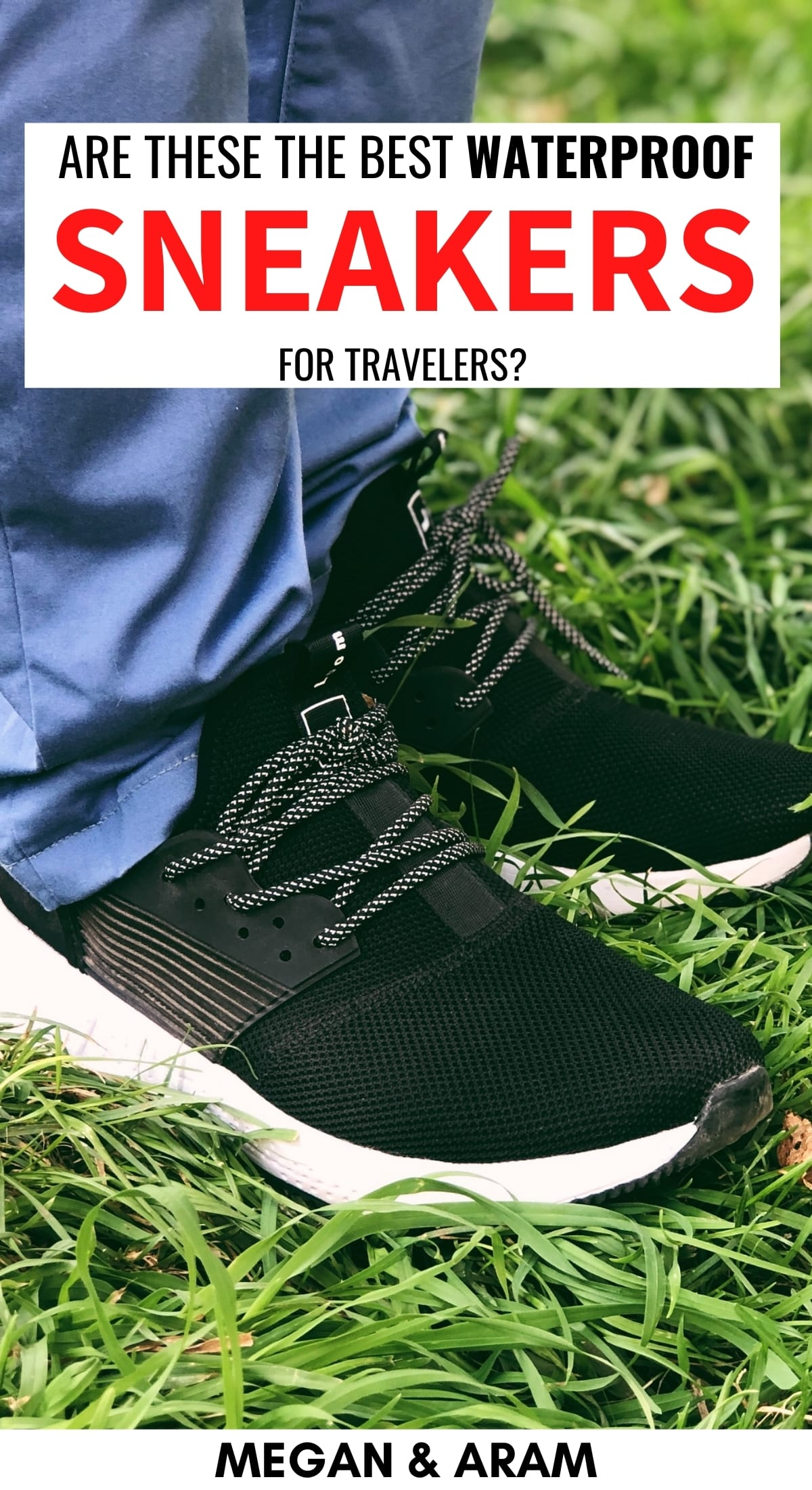 Are you on the hunt for the perfect waterproof shoe? Loom waterproof sneakers are a fantastic choice for travelers- this is my review of my shoes from Loom. | Waterproof Shoes | Loom sneakers | Waterproof sneakers | Best travel shoes | Best travel sneakers