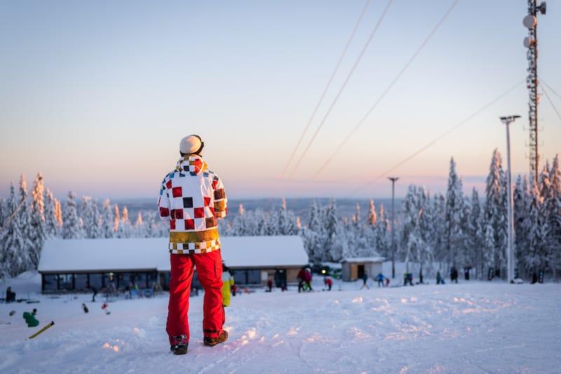 Oslo snowboard winter in Norway