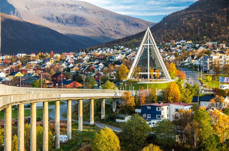 Tromso in autumn