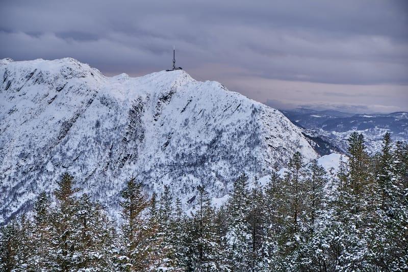 Ulriken views in Bergen
