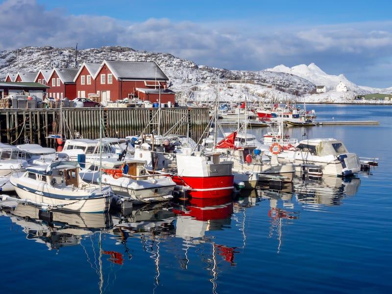 Winter in Bodo Norway