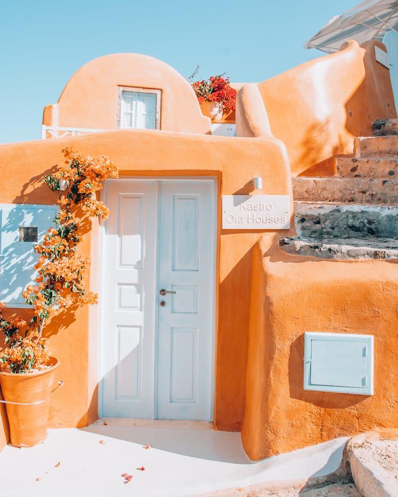 Kastro Oia Houses in Santorini