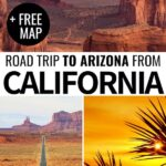 Are you planning a California to Arizona road trip to see some of America's most beautiful sights and parks? This guide will help you plan your CA-AZ road trip!   California road trip   Arizona road trip   California to Arizona   Southwest US Road trip   Grand canyon   Route 66 California to Arizona   Horseshoe Bend   Monument Valley road trip   Sedona Arizona   Kingman Arizona   Places to visit in Arizona   Things to do in Arizona   US National Parks   Arizona National Parks