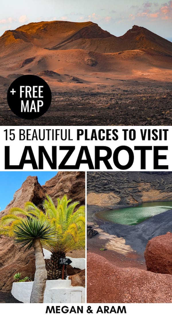 Looking for the best places to visit in Lanzarote? These fifteen spectacular places in Lanzarote are definitely worth adding to your Canary Islands itinerary! | Lanzarote destinations | Lanzarote attractions | Things to do in Lanzarote | Places to visit Canary Islands | Lanzarote photography | La Graciosa | Costa Teguise | Playa Blanca | Papagayo beaches | Lanzarote beaches | What to do in Lanzarote