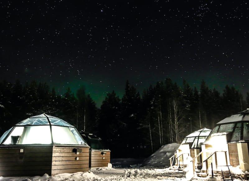Arctic Igloo hotel in Rovaniemi
