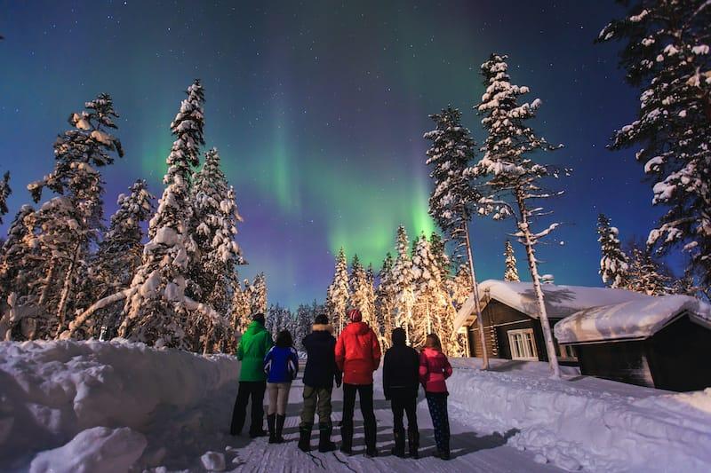 Aurora in Rovaniemi