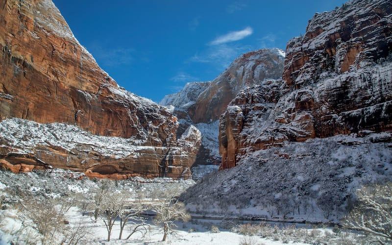 Big Bend National Park winter