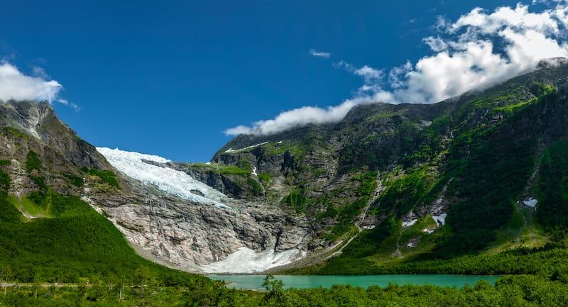Bøyabreen Norway glacier