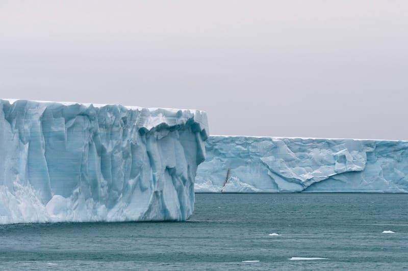 Bråsvellbreen in Svalbard Norway