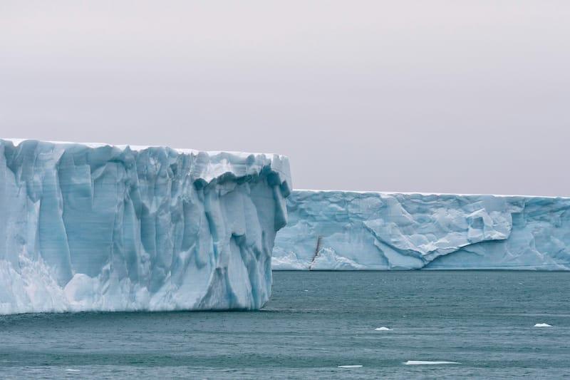 Bråsvellbreen in Svalbard Norway