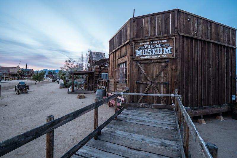 Film museum at Pioneertown