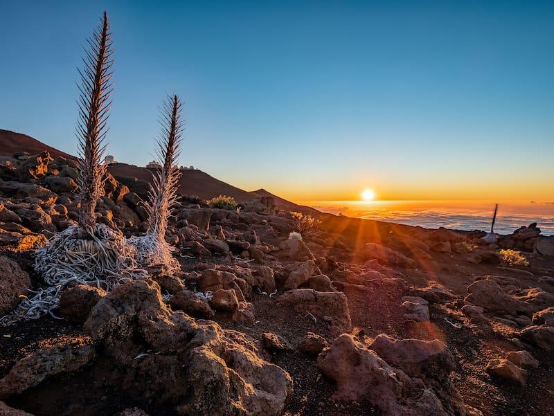 Haleakala National Park winter travel