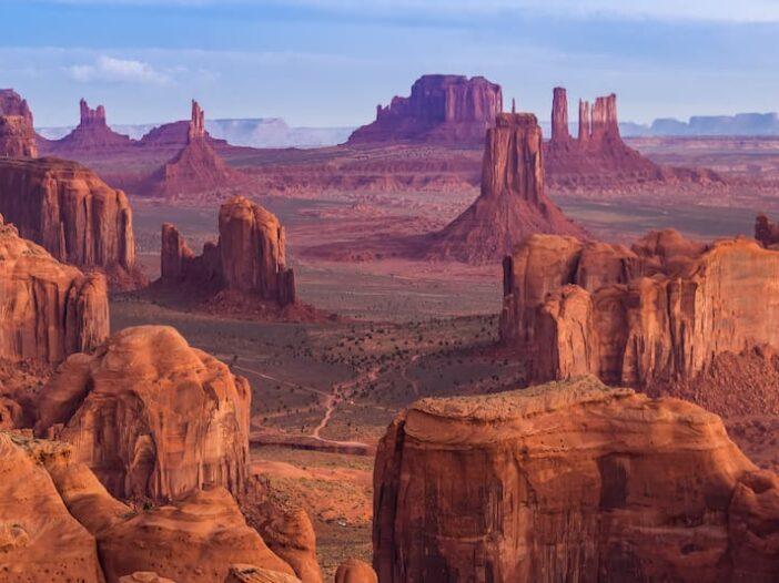 California to Arizona road trip - Monument Valley