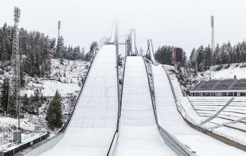 Lahti in winter