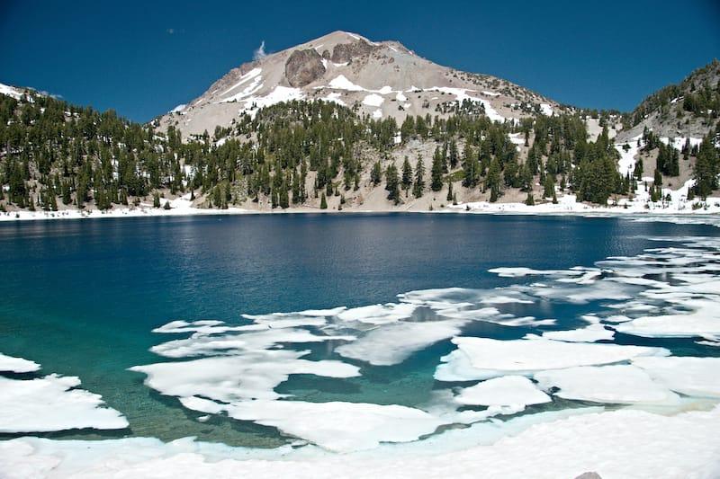 Lassen Volcanic National Park in winter