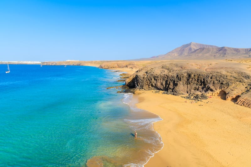 Papagayo Beaches in Lanzarote