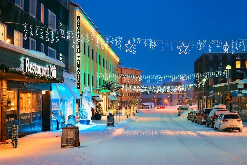 Rovaniemi city center