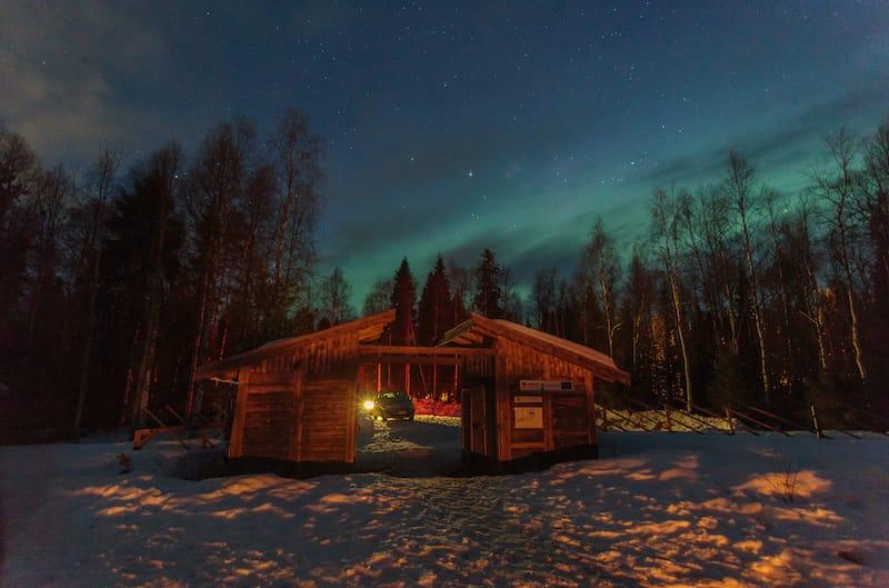Rovaniemi northern lights 1
