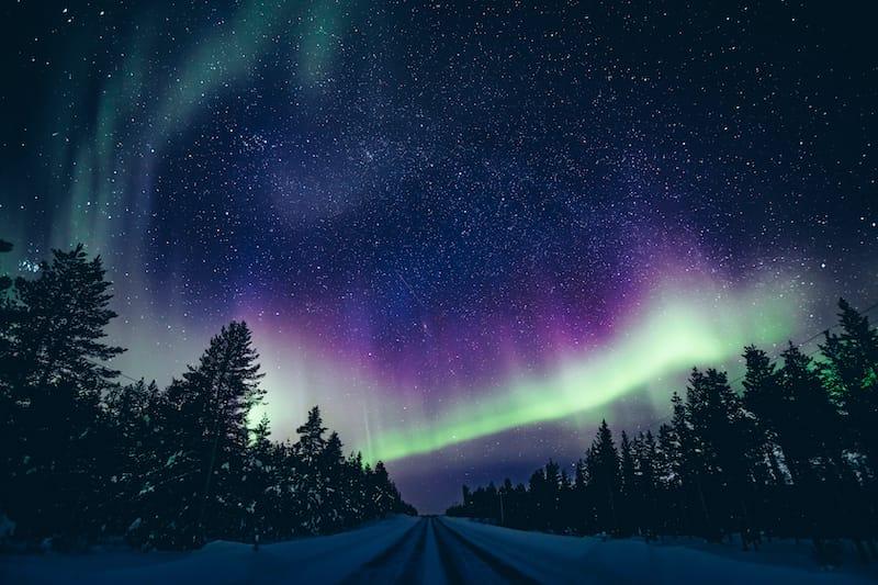 Rovaniemi northern lights