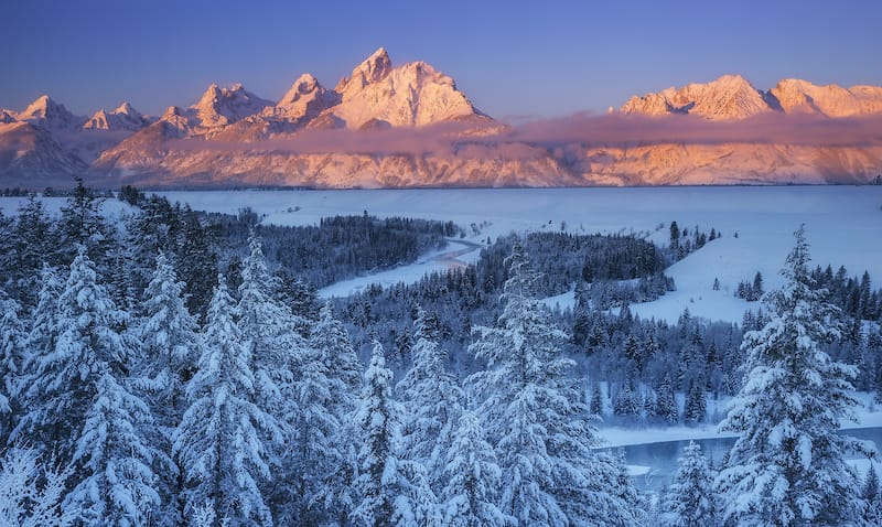 Snake River Overlook in Grand Teton National Park