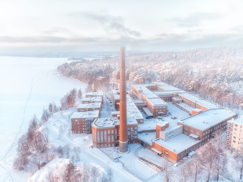 Tampere finland in winter