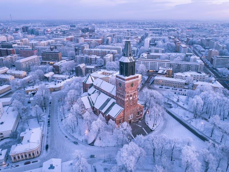 Turku in winter