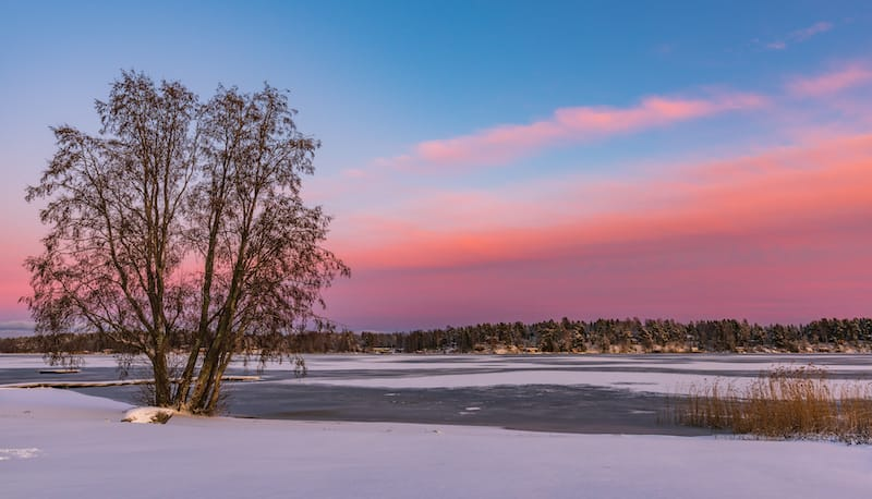 Vaasa in winter